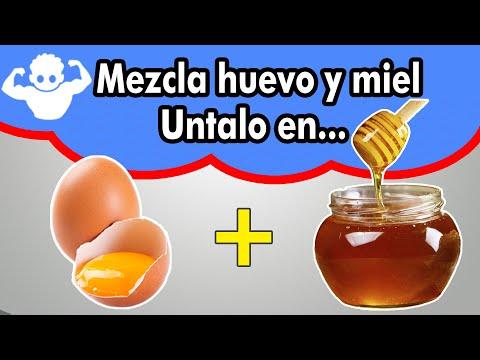 Videos caseros - la MEJOR Mezcla beneficios de la miel y el huevo, me lo vas a agradecer