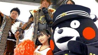 HKT48田中美久も!学ラン姿のくまモンが頑張るメイキング/ハンドボール女子日本代表「おりひめJAPAN」PR映像