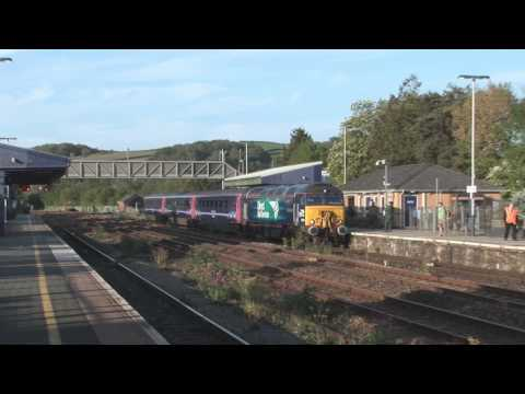 DRS 57303 'Pride of Carlisle' at Totnes with Exeter St Da...