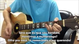 Tá namorando e me querendo - Henrique & Juliano -- Violão Instrumental (com letra e cifra)