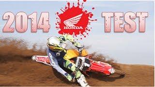 7. 2014 Honda CRF 250 & 450 Test