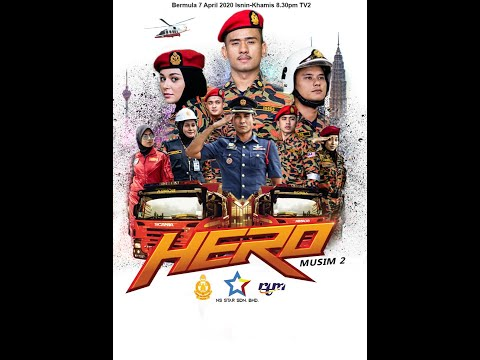 Hero Musim ke 2 Episod 1 - RTM - TV2