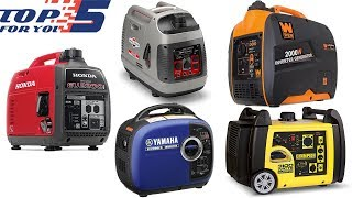 2. Top 5 Best Portable Generators of 2018
