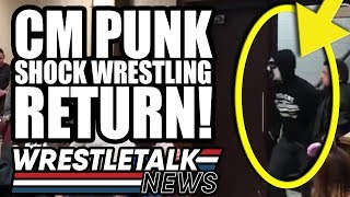CM Punk SHOCK WRESTLING RETURN! WWE Star LEAVES For AEW! | WrestleTalk News Apr. 2019