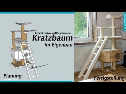 Katzen Kratzbaum selber bauen