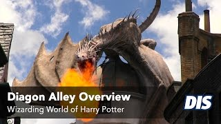 Diagon Alley Overview including Knockturn Alley, Leaky Cauldron and more!