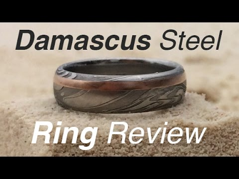 Damascus Steel Wedding Ring From Steven Jacob | Review