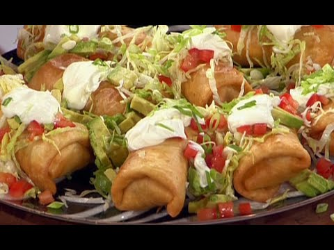 How To Make Guy Fieri's Chimichangas | Food Network