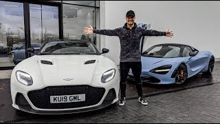 FINDING MY NEXT SUPERCAR   DBS vs 720s by Supercars of London