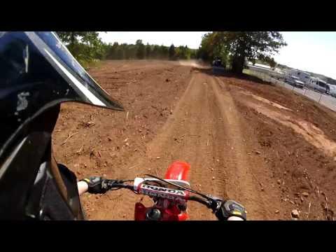 MX Wildflower Honda XR200 Trail Run Raw Footage