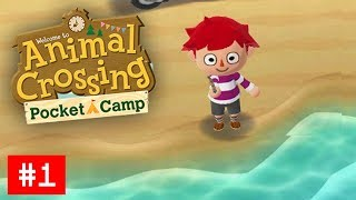 "ANIMAL CROSSING: POCKET CAMP Walkthrough Part 1 ""My New Camp"""