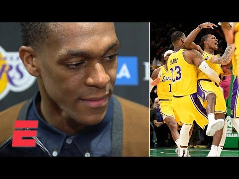 Video: Rajon Rondo calls game-winning shot vs. Celtics 'surreal' | NBA Sound