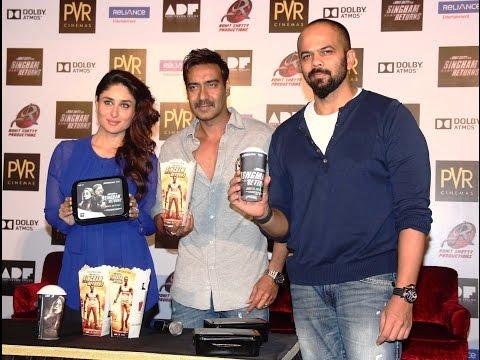 Singham Returns Merchandise Launch With Ajay Devgn & Kareena kapoor