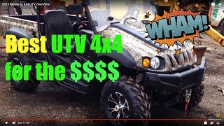 9. 4x4 UTV OverView... Plus Best UTV OR ATV Tires