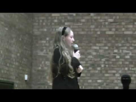 Rebecca Woolley- fantastic vocals