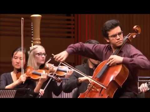 Rolando Fernadez Lara (3e prijs NCC): Saint-Saëns cello concert - deel 1