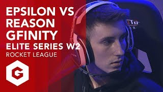 Full match VOD of Epsilon vs Reason from week 2 of the Gfinity Elite Series. Both Epsilon and Reason suffered a hard week 1, both losing their respective games. But after some good games, Epsilon took the series 3-1.Rocket League Full Match VOD's (Gfinity Elite Series Season 1)https://www.youtube.com/playlist?list=PL-BwJere_U_lDg0EVjsPOviy0ORbHBbKO--------------------------------------------------------------------------------------------------Keep up to date with all that's happening with the Elite Series:https://www.gfinityesports.comDo you have what it takes to compete on the big stage? Join our Challenger division:https://challenger.gfinityesports.com/Looking for other games? Check out our other supported games:http://www.gfinity.net