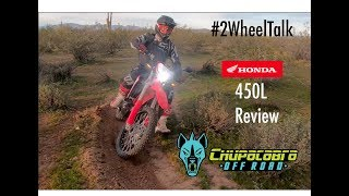 10. #2WheelTalk - 2019 Honda 450L Offroad Review