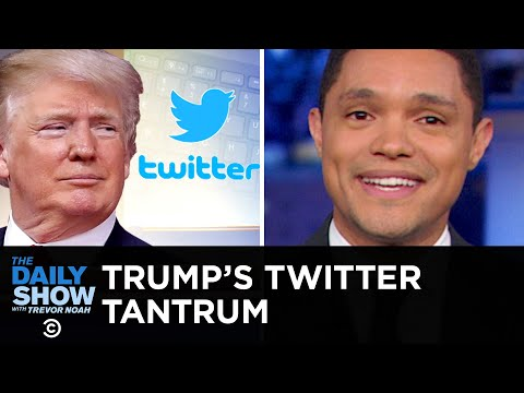 Trump Throws a Tantrum Over Twitter Followers and Tests the Power of Congress  The Daily Show