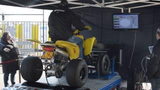 10. Suzuki Z400 op de Testbank Open Dag DCA Motorcycles