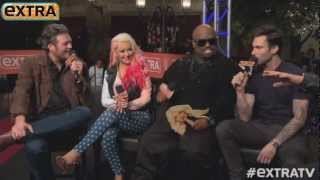 'The Voice' Coaches Take 'Extra's' Pop Quiz