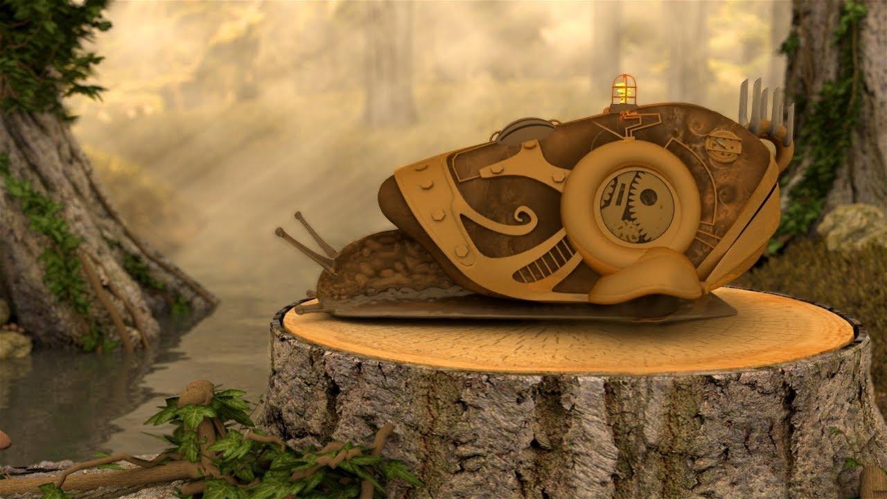 Snail Caravan — 3D Animation