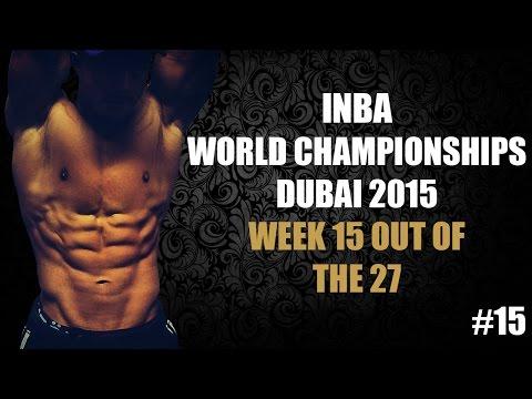 Pre-contest INBA Natural Bodybuilding World's Dubai 2015 – #15
