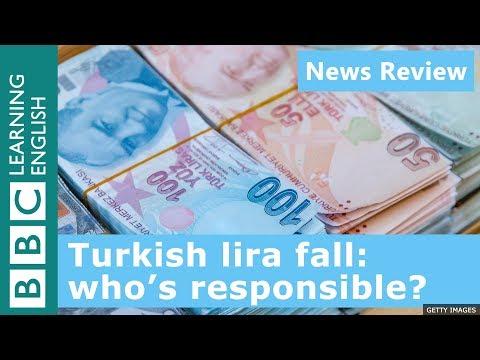 Turkish lira fall: who's responsible?:  BBC News Review
