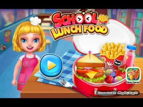 Lunch Food Kids Game