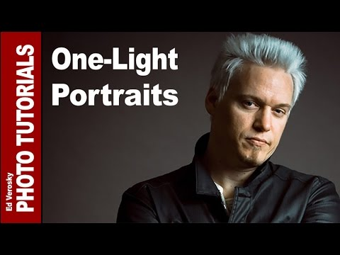 One Light Portrait Setup