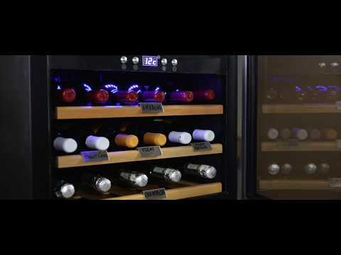 Datron Cantinetta Vino presentazione modello 18 Bottiglie