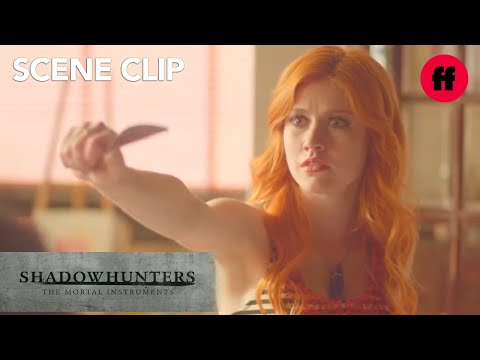 Shadowhunters   Season 1, Episode 10: Clary Easts Breakfast With Family   Freeform