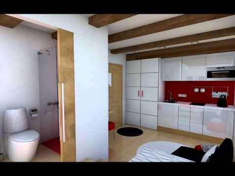 Mini piso 20 m2 for Decoracion piso 30m2
