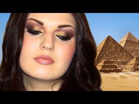 Egyptian Arab Makeup المكياج العربي CAIRO + Bloopers!
