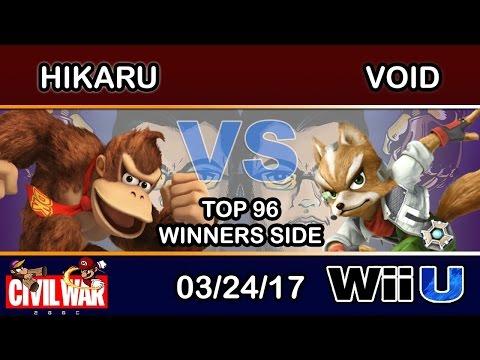 2GGC: Civil War - Hikaru (Donkey Kong) Vs. CLG | VoiD (Sheik) Top 96 Winners Side (видео)