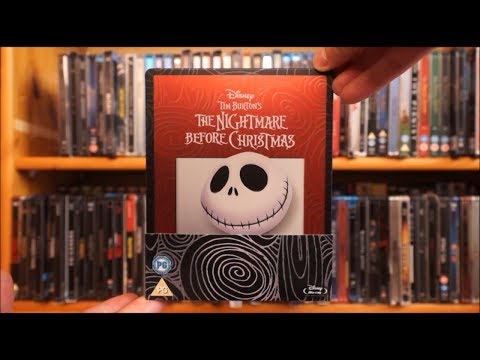 THE NIGHTMARE BEFORE CHRISTMAS (UK Blu-ray Steelbook) / Zockis Sammelsurium Nr. 1314