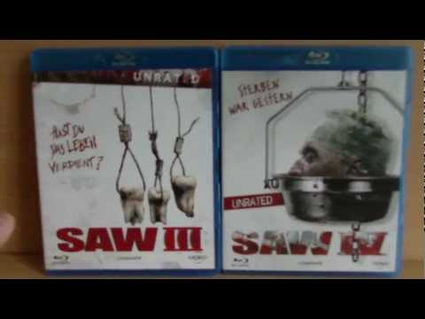 Saw 3 & Saw 4 - Unrated [Bluray]