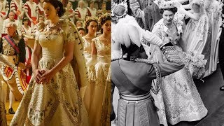 Video 'THE CROWN' CORONATION vs REAL CORONATION OF QUEEN ELIZABETH II IN 1953 Comparison MP3, 3GP, MP4, WEBM, AVI, FLV Januari 2018