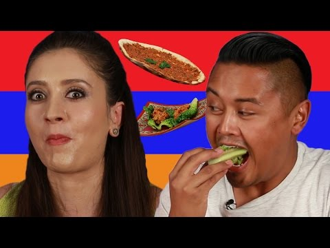 People Try Armenian Food For The First Time