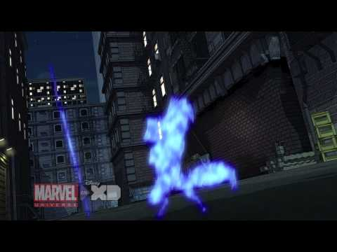 Clip: Marvel's Avengers Assemble 'Widow's Run'