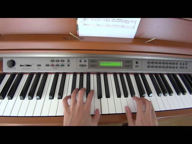 サビだけピアノで弾いてみた♪「アナと雪の女王」~let it go(コード付き)