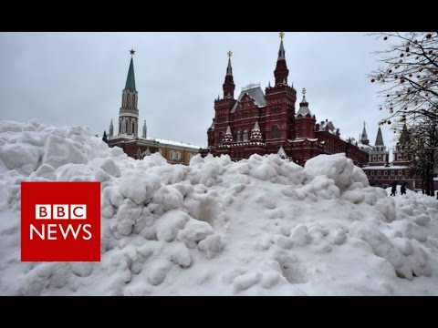 How Moscow gets rid of snow