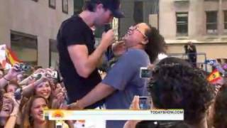 Enrique Iglesias Hero LIVE TODAY SHOW 2010.16th July 2010.