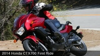 10. MotoUSA First Ride: 2014 Honda CTX700