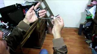 Forma original de hacer el nudo del ramal