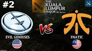 EG vs Fnatic #2 (BO3) | The Kuala Lumpur Major