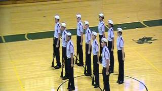 Ben Eielson High School JROTC Armed Exhibition Drill Team Competion 4 Feb 12