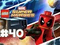 LEGO Marvel Superheroes - LEGO BRICK ADVENTURES - Part 40 - Long! (HD Gameplay Walkthrough)