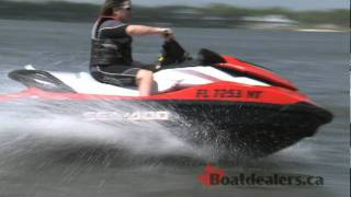 4. 2012 / 2011 Sea-Doo GTI SE 130 Personal Water Craft Review