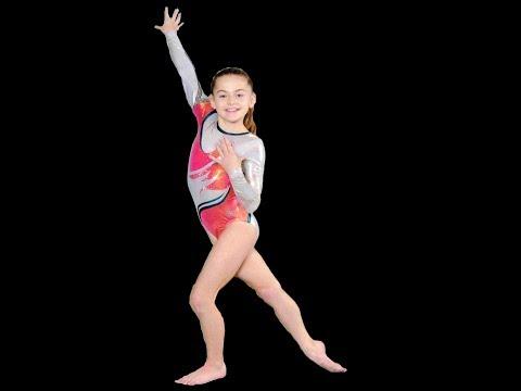 12 Year Old Level 9 Gymnast Grace Martin (видео)